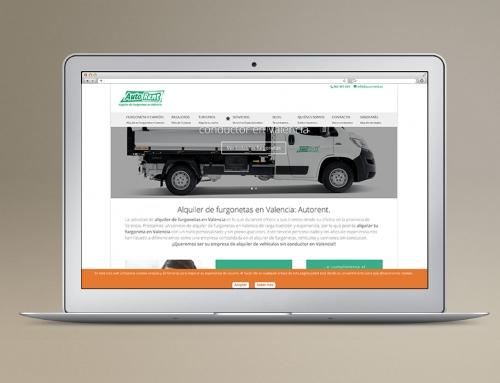 Página Web Autorent